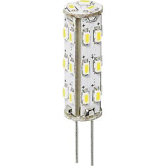 LED G4 Pen 1.3 W = 20 W Warm white (Ø x L) 9.8 mm x 40 mm EEC: A+ DioDor dimmable 1 pc(s)