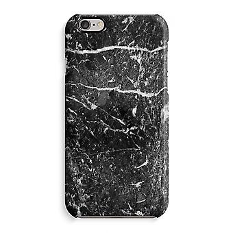 Iphone 6 6s Case 3d Case (Glossy) - Black marble