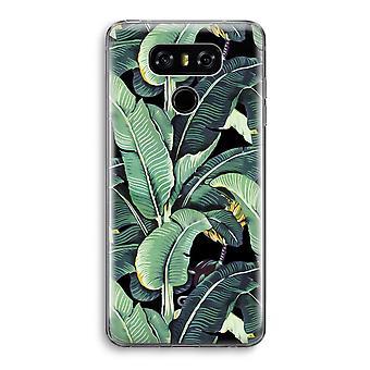 LG G6 Transparent Case - Banana leaves