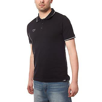 arena chassis men's polo-shirt black