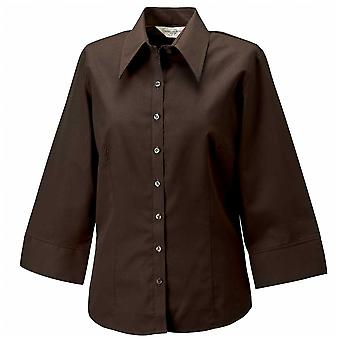 Russell Womens 3/4 Sleeve Shirt