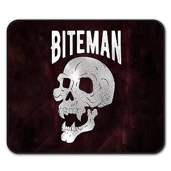 Vampire Skeleton Skull  Non-Slip Mouse Mat Pad 24cm x 20cm | Wellcoda