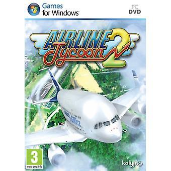 Flyselskab Tycoon 2 (PC DVD)-fabriks forseglet