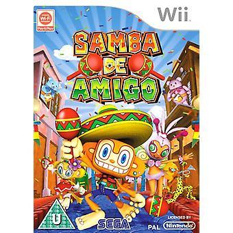 Samba De Amigo (Nintendo Wii) - Factory Sealed