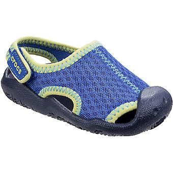 Crocs Boys & Girls Swiftwater Lightweight Casual Summer Water Shoes