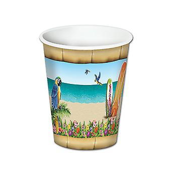 Paradies Getränk Tassen (8/Pkg)
