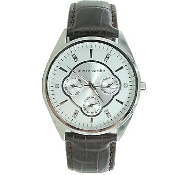 Pierre Cardin ladies watch wristwatch Bayan leather PC107182F02