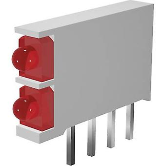 LED component 2x Red, Green (L x W x H) 15.5 x 2.5 x 12 mm Signal Construct DBI01302