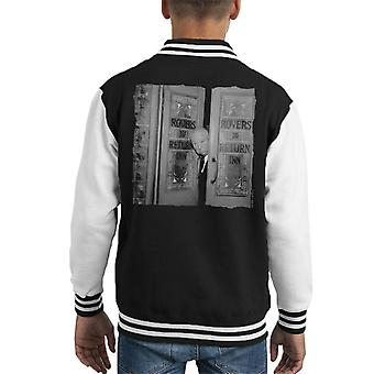 TV Times Alfred Hitchcock At The Rovers Return 1964 Kid's Varsity Jacket