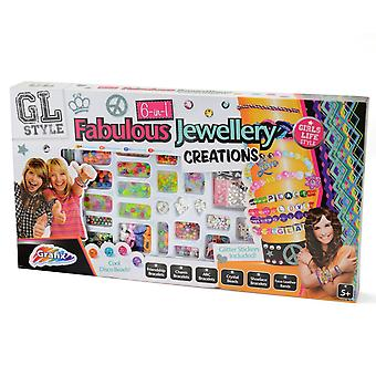 GL Style 6 in 1 Fabulous Jewellery Creations Activity Set