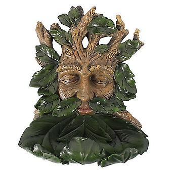 Something Different Large Green Man Bird Feeder