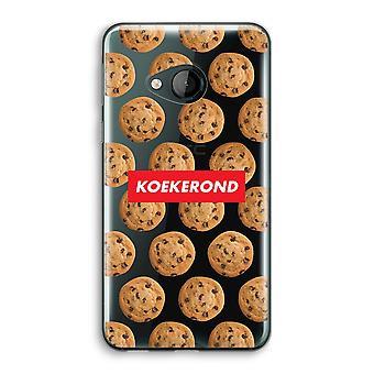 HTC U Play Transparent Case (Soft) - Koekerond