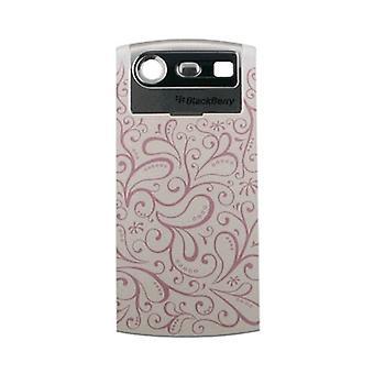 OEM BlackBerry Pearl 8110 8120 8130 Standard Battery Door - Floral