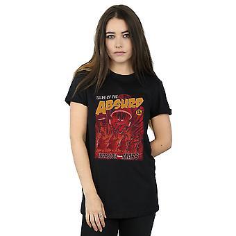 Looney Tunes Women's Invasion From Mars Boyfriend Fit T-Shirt