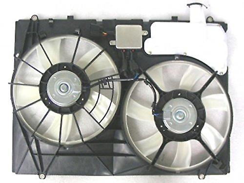 APDI 6034147 Dual Radiator and Condenser Fan Assembly