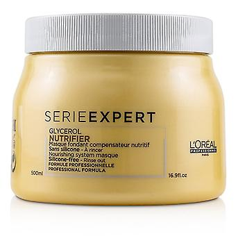 L'oreal Professionnel Serie Expert - Nutrifier Glycerol Nourishing System Masque (Silicone-Free - Rinse Out) - 500ml/16.9oz