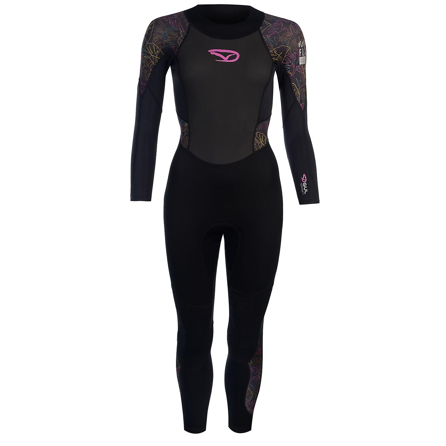 Gul femmes Core complet Wetsuit haute cou Zip maille rapide séchage sport Stretch
