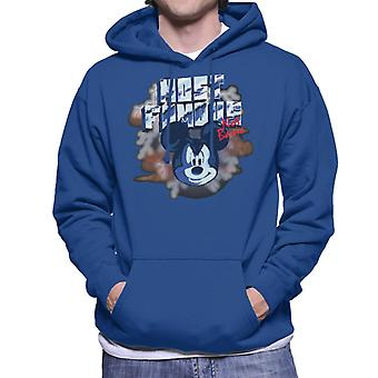 Disney Mickey Mouse Band Most Famous Not Basic Men's Hooded Sweatshirt