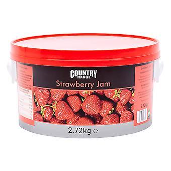 Country Range Strawberry Jam Tub