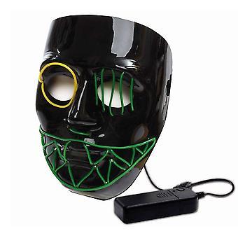 LED Maske Halloween skull skull mask illuminated mask