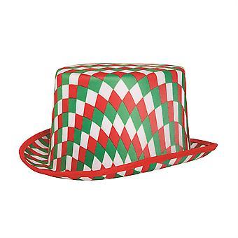 Hoge hoed gekarteld (R/G/W)
