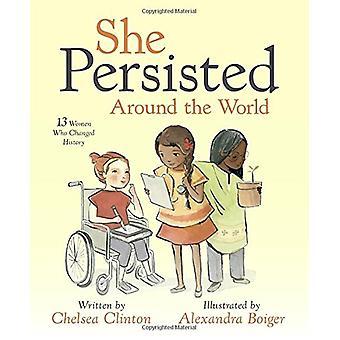 وقالت أنها استمرت العالم-13 امرأة غيرت التاريخ من قبل تشيلس