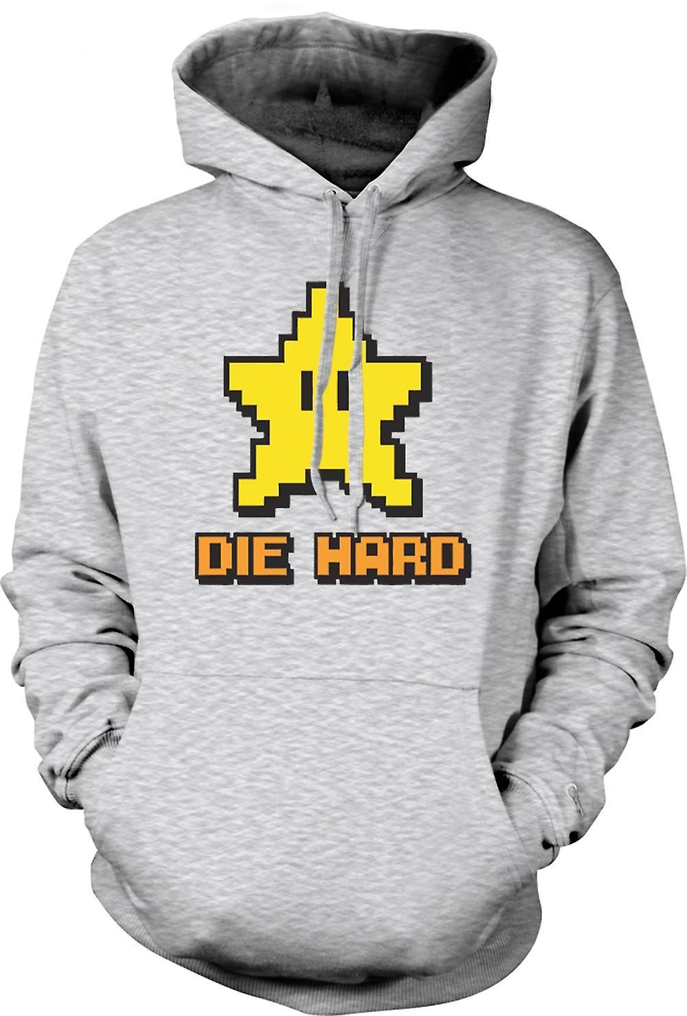 Mens Hoodie - Die Hard - Pacman - preventivo
