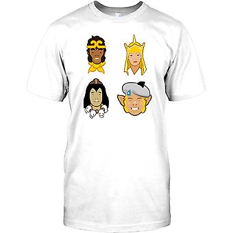 Monkey Magic Gang - Monkey Pigsy Sandy Tripitaka barn T Shirt