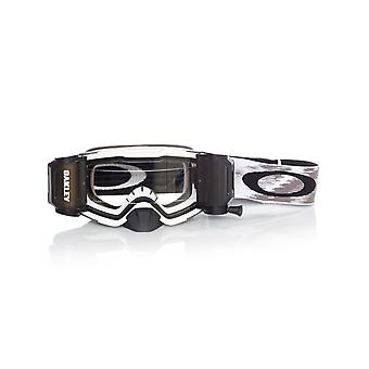 Oakley Matte White Speed-Clear Front Line Race Ready MX Goggle