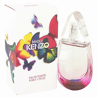 Madly Kenzo by Kenzo Eau De Toilette Spray 1.7 oz/50 ml (donne)