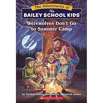 Lobisomens não ir para o acampamento de Verão (Little Apple Paperbacks)