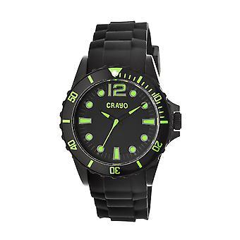 Crayo Fierce Unisex Watch - Green