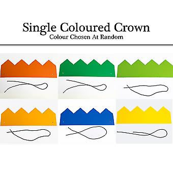 Single Coloured Card Crown for Kids to Decorate | Make & Decorate