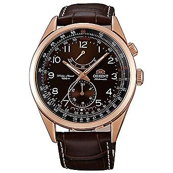 Orient Automatic Analog Man with a leather strap FFM03003T0