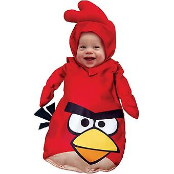 Red Angry Bird Infant Costume
