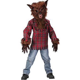 Plaid Werewolf Child Costume