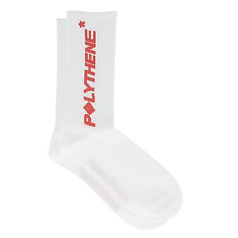 Polythene Optics White Cotton Socks