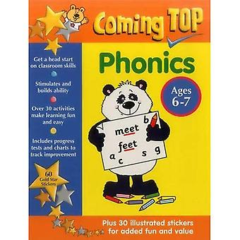 Coming Top: Phonics - Ages 6-7: 60 Gold Star Stickers - Plus 30 Illustrated Stickers for Added Fun and Value