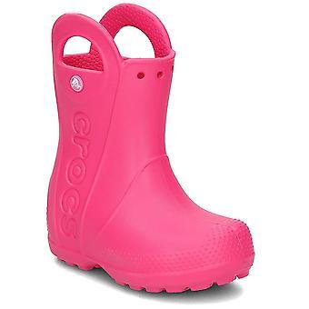 Crocs handvat het regenlaars 128036X0 universeel het hele jaar kinderenschoenen