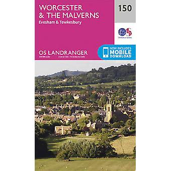 Worcester & the Malverns - Evesham & Tewkesbury (February 2016 ed) by