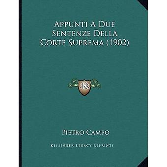 Appunti a Due Sentenze Della Corte Suprema (1902) by Pietro Campo - 9