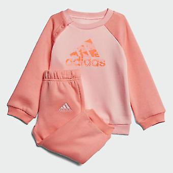 Adidas Infant Girls Sports Crew Tracksuit - CF7380