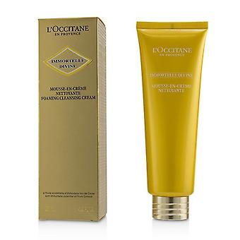 L'Occitane Immortelle Divine Foaming Cleansing Cream 125ml/4.2oz