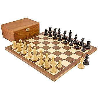 Competition Staunton Walnut Chess Set
