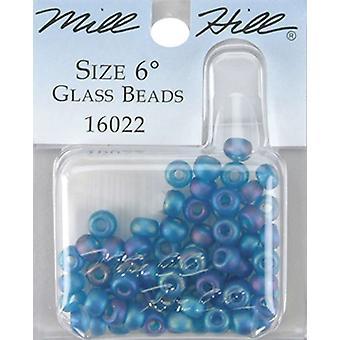 Mill Hill Glass Beads Size 6 0 4Mm 5.2 Grams Pkg Midnight Gbd6 16002