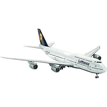 Revell 04275 Boeing 747-8 Lufthansa Aircraft assembly kit 1:144