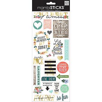 Specialty Stickers-The Best Of Times SPX-305