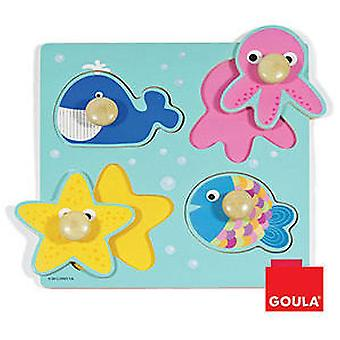 Goula Sea Puzzle (Toys , Preschool , Puzzles And Blocs)