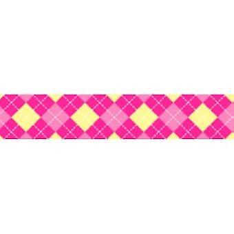 Tuff Lock 180cm Large Argyle Pink