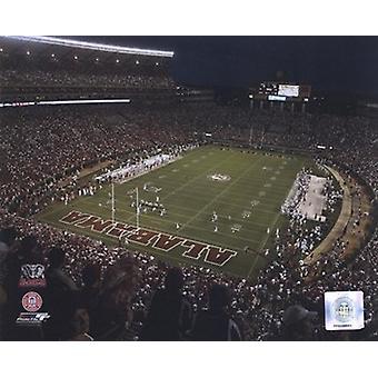 Bryant-Denny Stadium 2007 - le foto di Sport University of Alabama (10x8)